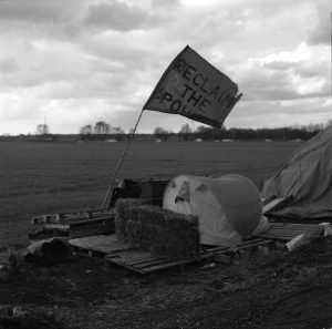Barton Moss Fracking Blockade/// 2014